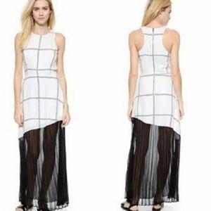 Ryder pleat maxi dress by Line & Dot